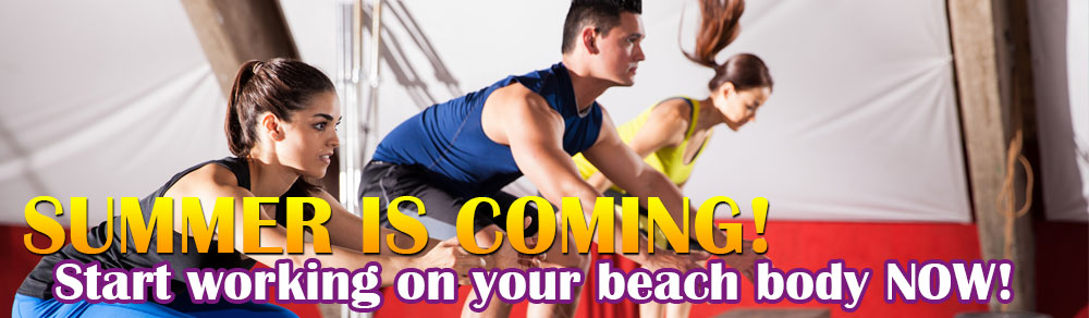 Get your summer body ready with our fitness boot camps.