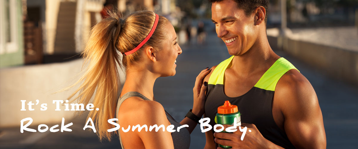 ROCK A SUMMER BODY IN JUST 45 MINUTES A DAY!
