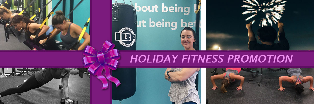 Holiday Fitness Promotion Special from Premium Personal Training in Newmarket Ontario